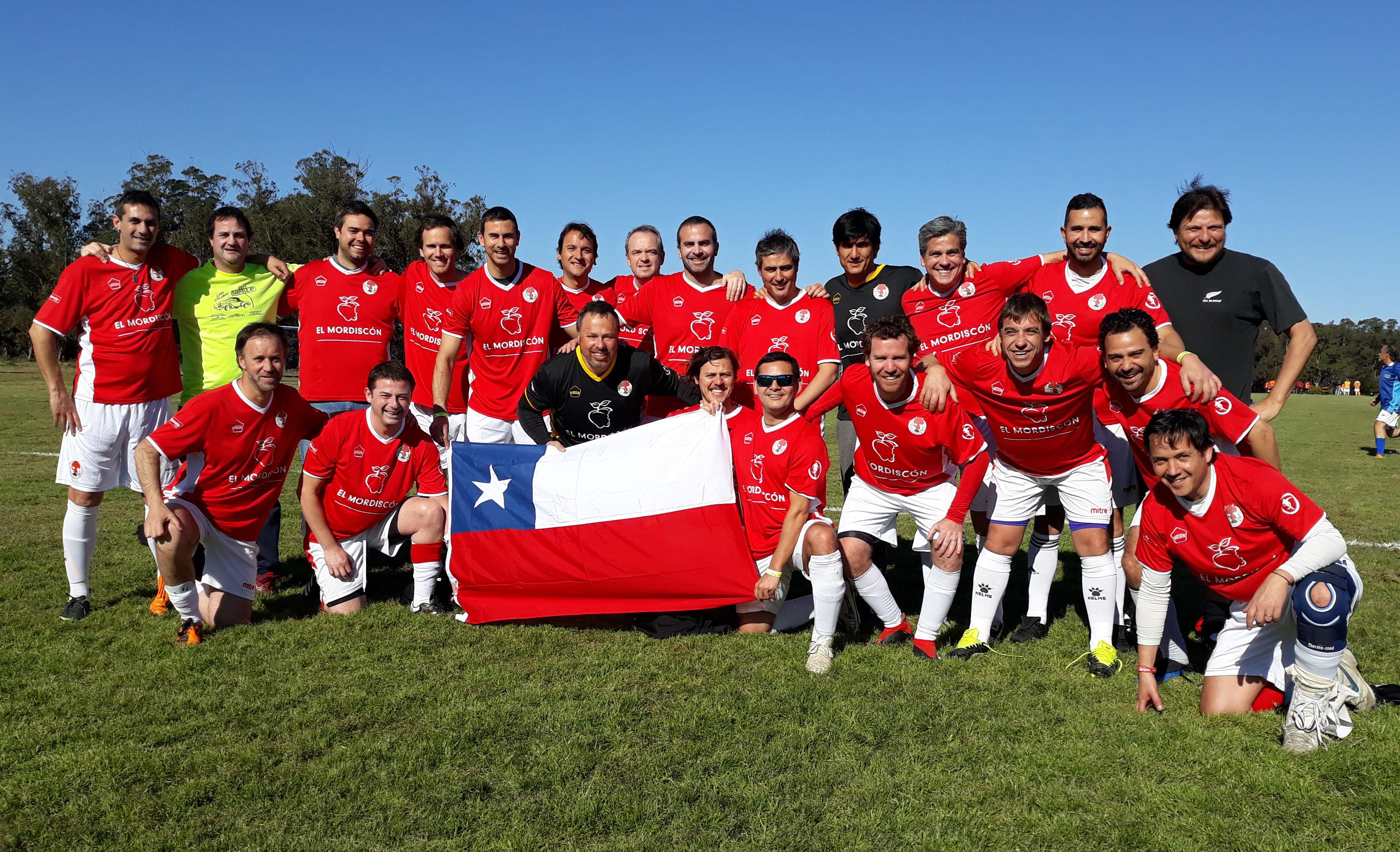 Campeón en tierras uruguayas