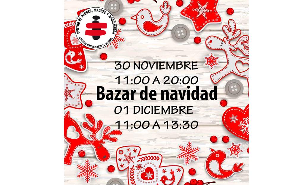 Apoya a tu comunidad asistiendo al Bazar de Navidad 2019