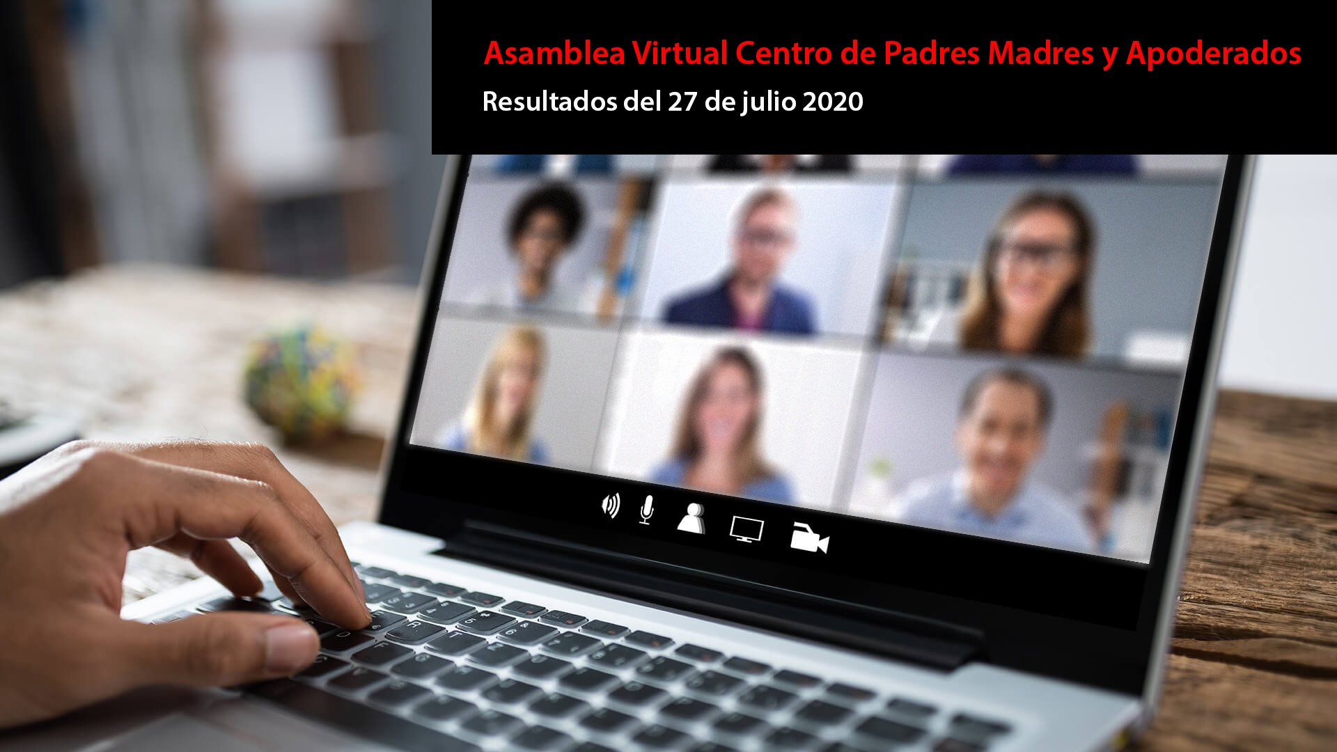 Asamblea Virtual Centro de Padres Madres y Apoderados