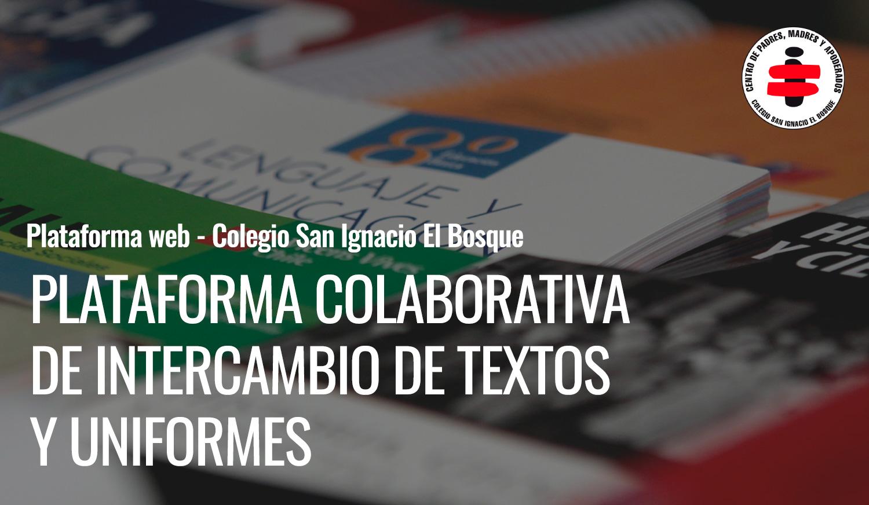Plataforma colaborativa de intercambio de textos y uniformes
